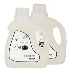1+1 자연생 세탁세제 2L