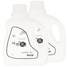 1+1 자연생 섬유유연제2L